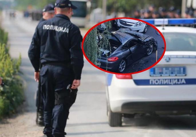 """Otkriveno KO JE VLASNIK """"PORŠEA"""" na koji je bačena bomba na Vračaru (FOTO)"""