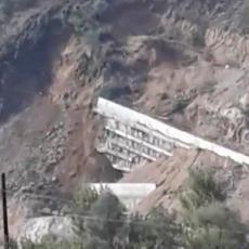 Otpočela sanacija Kosine 2: Srušeni zid grade iz početka, ali Koridor 10 neće kasniti