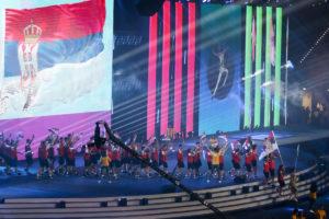 Otvoren 15. EJOF u Bakuu, zastavu Srbije nosila Nina Stanisavljević