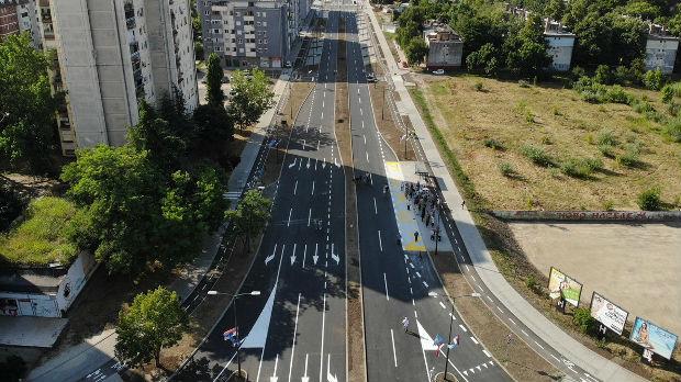 Otvoren Bulevar Bate Brkića u Novom Sadu