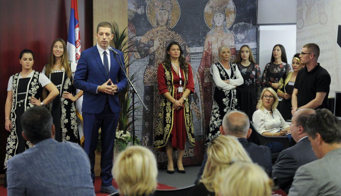 Otvoren štand Kancelarije za Kosovo i Metohiju na Sajmu knjiga