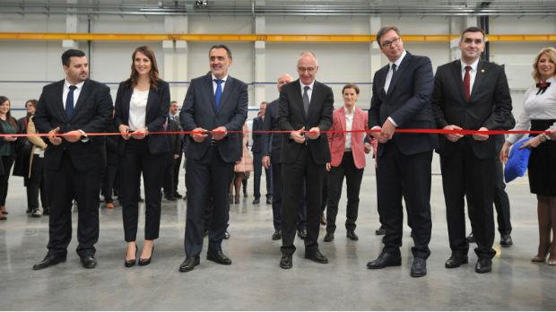 Otvorena fabrika AMM u Majnd parku u Kragujevcu