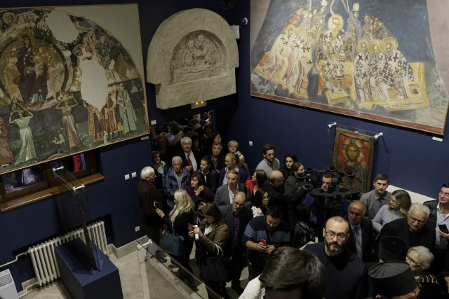 Otvorena izložba Osam vekova umetnosti pod okriljem SPC