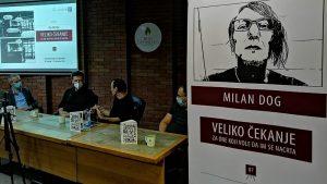 """Otvorena izložba ilustracija Milana Doga """"Veliko čekanje – za one koji vole da im se nacrta"""""""