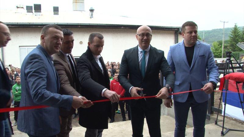 Otvorena nezavršena hala u Severnoj Mitrovici