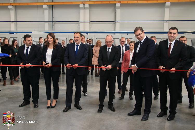 """Otvorena prva fabrika u """"Majnd parku"""""""