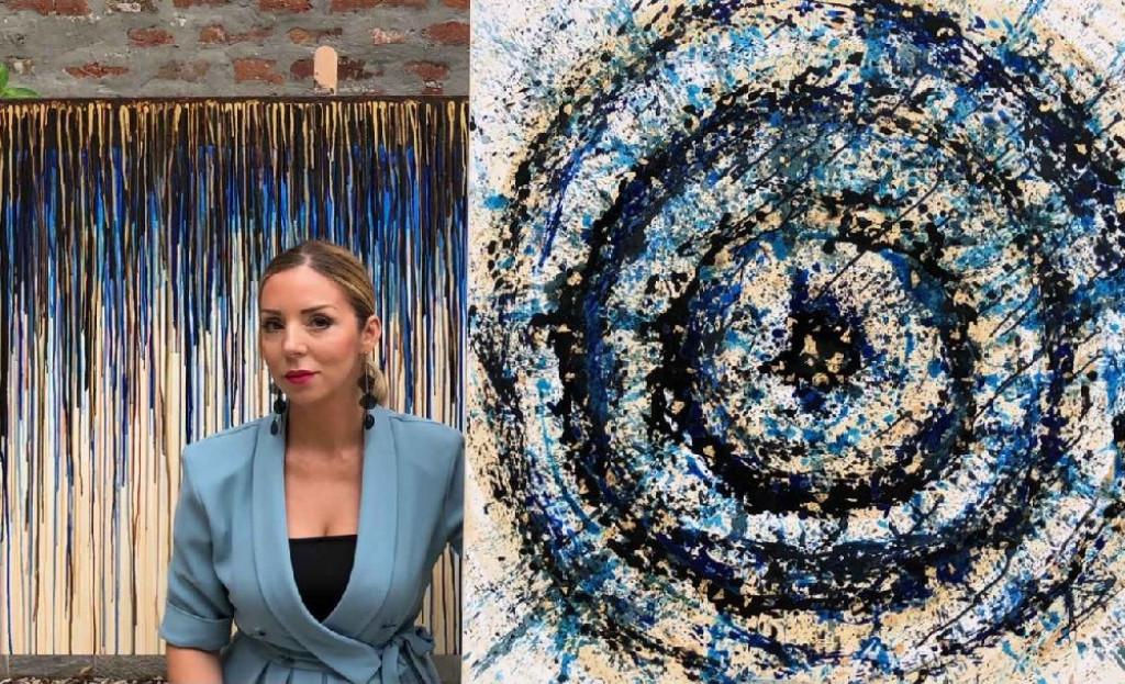 Otvorena samostalna izložba slika pod nazivotm TOKOVI umetnice Ane Pavlović Kesar