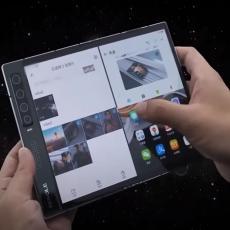 Ovaj telefon se OTVARA kao knjiga, podržava 5G tehnologiju i PRVI je SAVITLJIVI TELEFON (VIDEO)