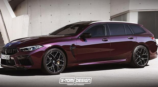 Ovako bi mogao da izgleda BMW M8 Touring