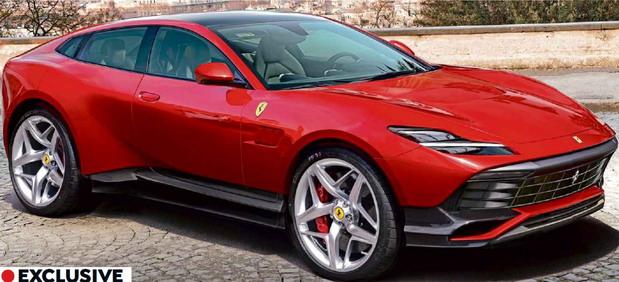 Ovako bi mogao da izgleda Ferrari Purosangue
