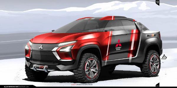 Ovako bi mogao da izgleda sportski Mitsubishi pikap