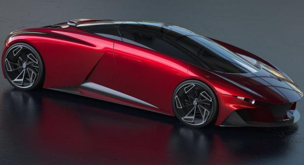 Ovako bi mogao da izgleda superautomobil Mazda 9