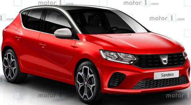 Ovako bi mogla da izgleda nova Dacia Sandero