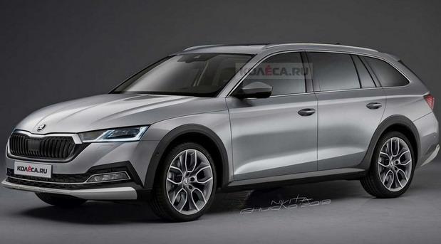 Ovako bi mogla da izgleda nova Škoda Octavia Scout