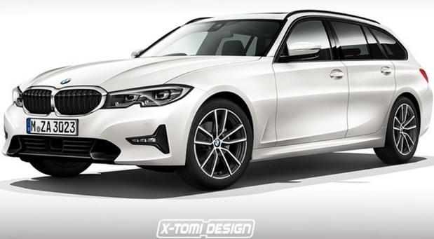 Ovako bi trebalo da izgledaju novi BMW Serije 3 Touring i Serija 4 Coupe