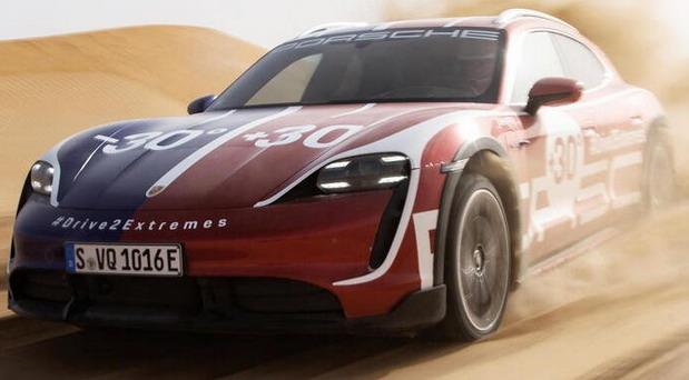 Ovako se Porsche Taycan Cross Turismo snalazi u ekstremnim klimatskim uslovima