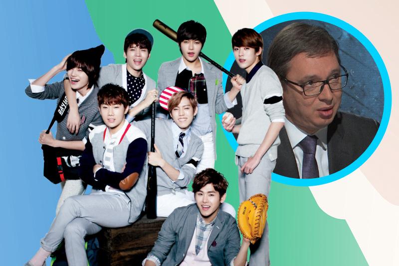 Ovako se fanovi korejske pop muzike bore protiv Vućića na internetu