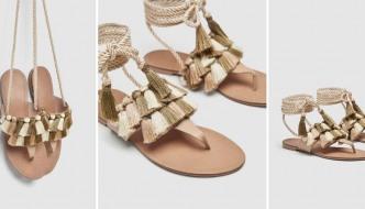 Ove Zarine sandale s kićankama rado bismo nosili!