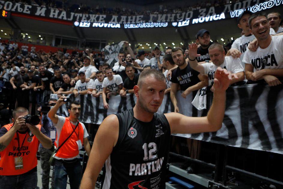 Ovo može samo Partizan! Bogdanović i Vujošević oduševljeni SPEKTAKLOM u Areni: Novica je dotakao sam VRH!