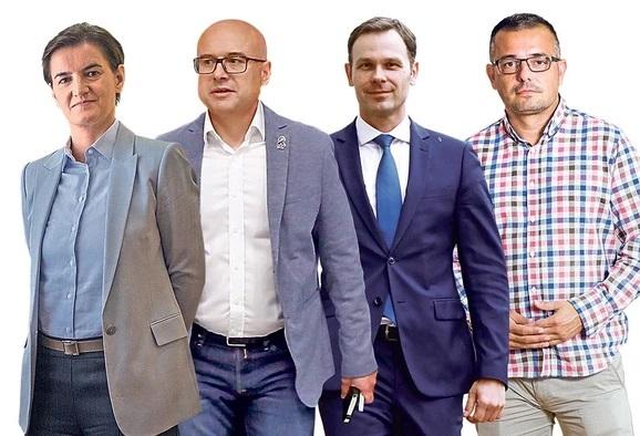 Ovo su 4 SNS kandidata za premijersko mesto: Ko će voditi novu Vladu Srbije?