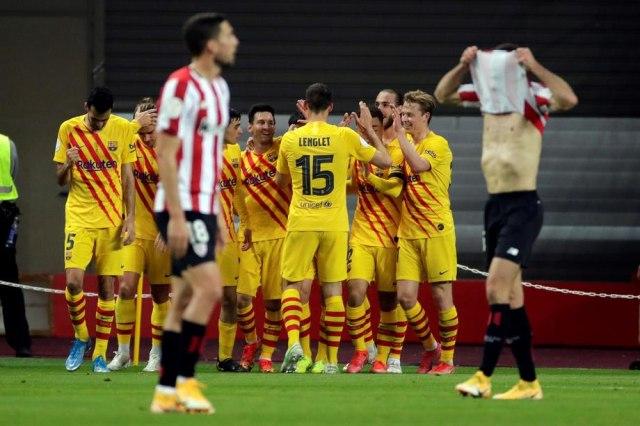 Ovog puta Bilbao nije imao šansu – Barsa osvojila Kup kralja VIDEO