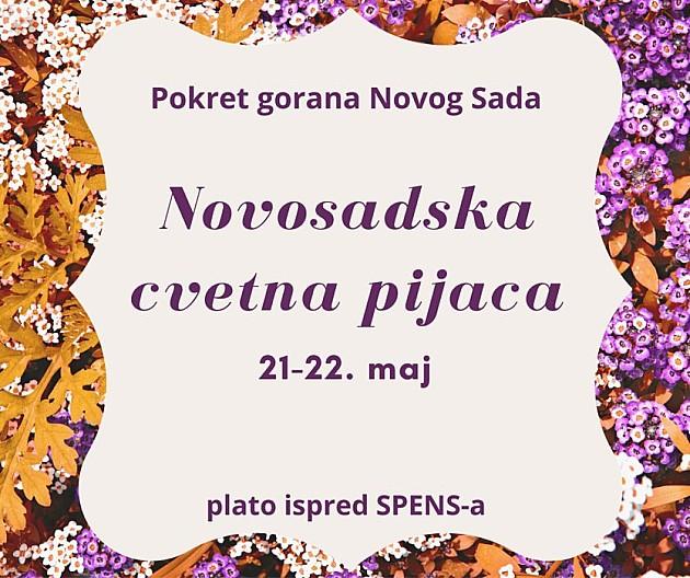 """Ovog vikenda treća prolećna """"Novosadska cvetna pijaca"""""""