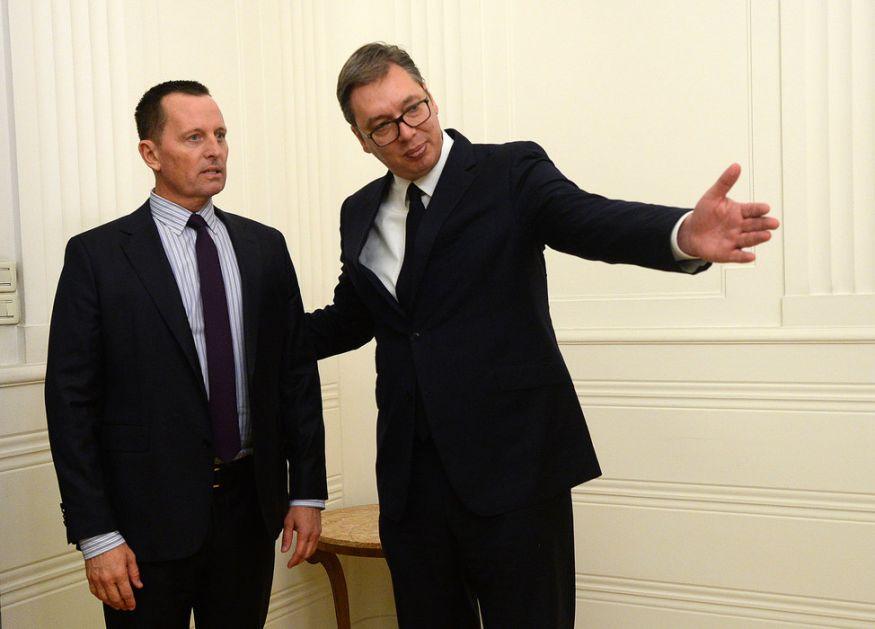 Ozbiljan, sveobuhvatan i energičan razgovor Vučića i Grenela