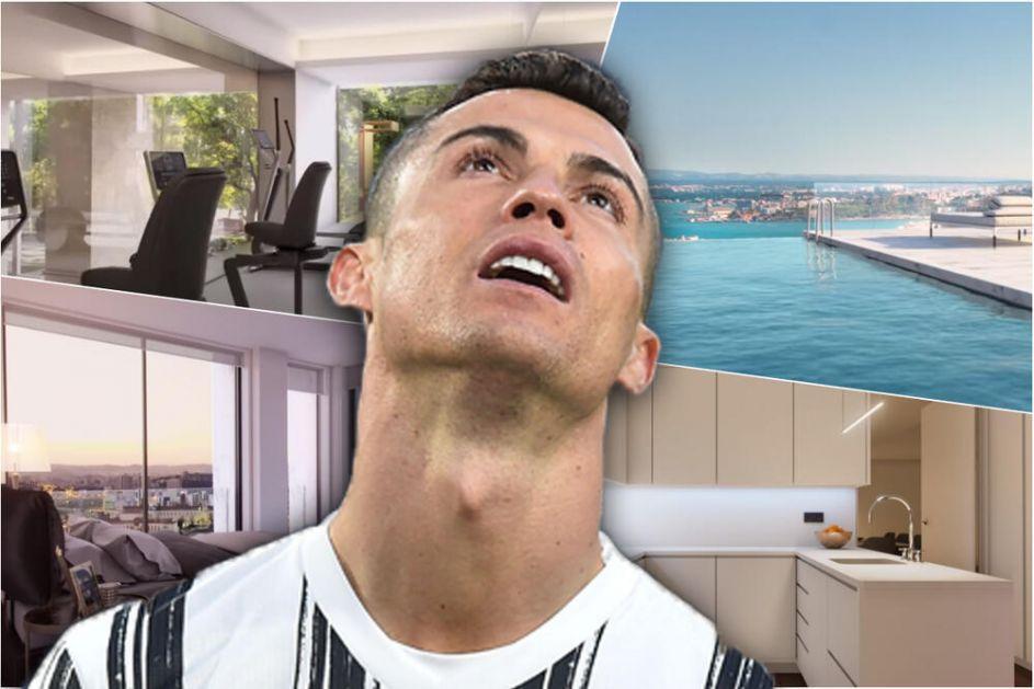 PA, OVO JE RAJ NA ZEMLJI: Pogledajte kako izgleda Ronaldova nova vila od samo 7.000.000 evra! Sve puca od LUKSUZA