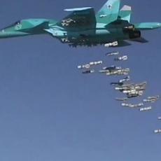 PA TO NI MIŠEVI U RUPAMA NE BI PREŽIVELI: Rusi za kratko vreme izveli čak 70 vazdušnih udara na ISIS u Siriji