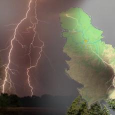 PAD TEMPERATURE, GROMOVI, PLJUSAK: Večeras stiže VELIKO NEVREME širom Srbije - evo šta nam se sprema od sutra