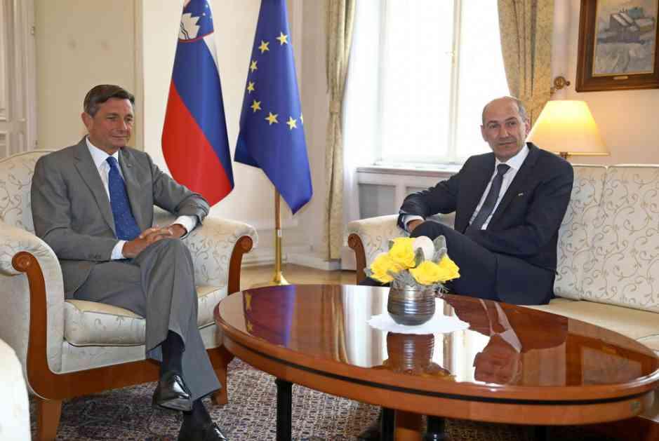 PAHOR JANŠI PONUDIO MANDAT: Odgovor predsednika SDS se očekuje za sedam dana
