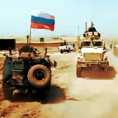 PAKAO U SIRIJI! Ameri blokirali put RUSKIM OKLOPNJACIMA, ovi dali PUN GAS - nastao POTPUNI HAOS (VIDEO)