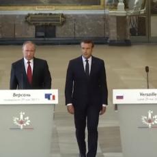 PALA ODLUKA: Putin i Makron o situaciji u Siriji i Ukrajini