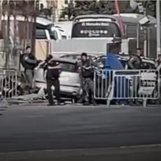 PALESTINAC KOLIMA RAZBUCAO IZRAELSKI PUNKT: Odmah su ga likvidirali, ima i ranjenih, Hamas pohvalio herojski čin (VIDEO)