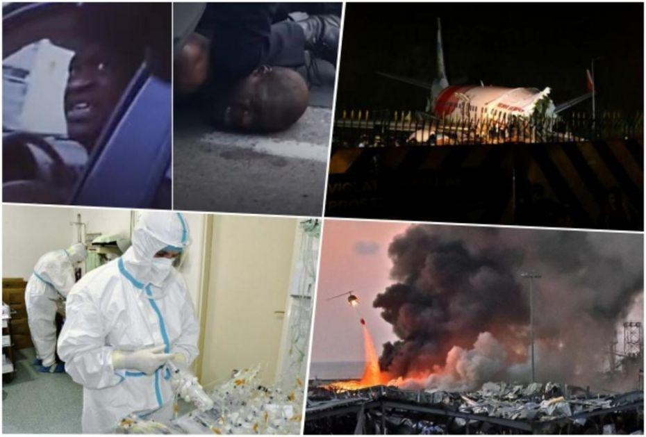 PANDEMIJA, PAD AVIONA, EKSPLOZIJA, UBISTVO I POŽAR Tragedije koje su obeležile 2020 godinu! Svi se pitaju šta je sledeće