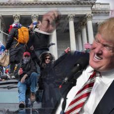 PANIKA NA KAPITOLU, PODIGNUTE MERE BEZBEDNOSTI: Kanon poručuje - Tramp postaje predsednik 4. marta!
