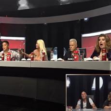 PANIKA U ŽIRIJU! Zorja izletela na scenu na TROTINETU, jedva izbegla kameru, Viki i Marija u ŠOKU! (VIDEO)