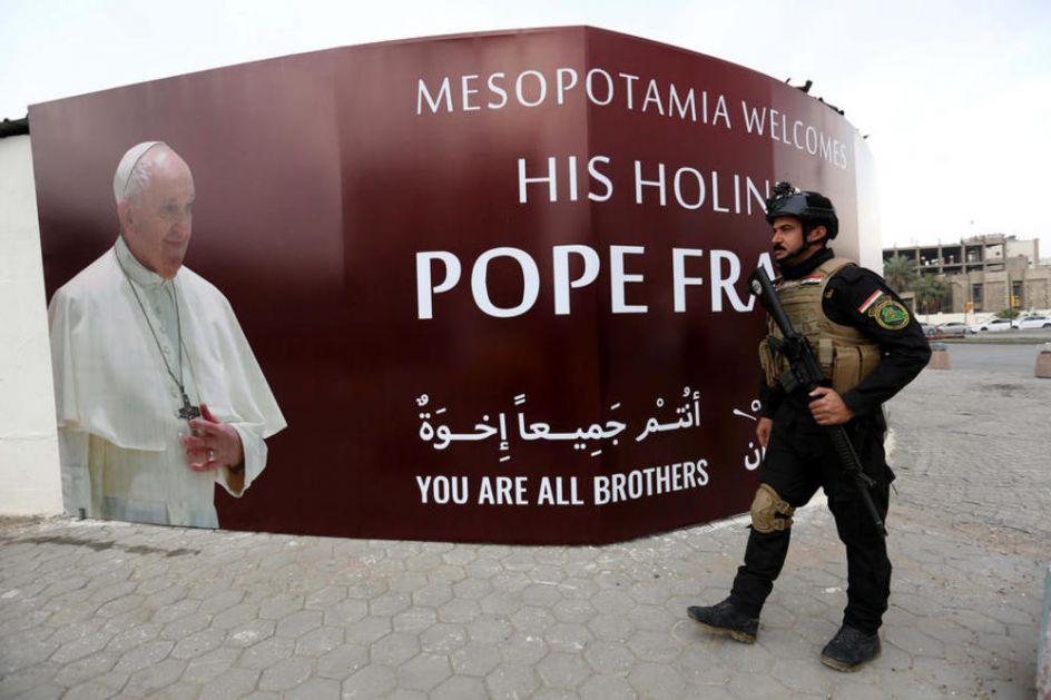 PAPA U ISTORIJSKOJ POSETI IRAKU: U Bagdadu sve spremno za doček