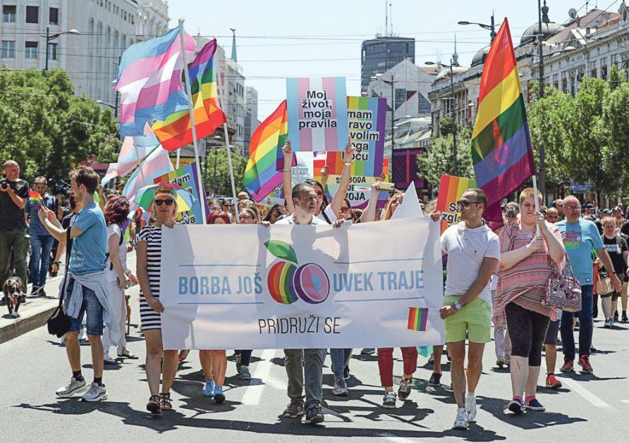 PARADA LGBT 15. SEPTEMBRA: Beograd kandidat za Evroprajd za 2022. godinu