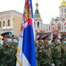 PARADA POBEDE U MOSKVI: Gardisti Vojske Srbije pripremaju se za počasni defile Crvenim trgom (FOTO)
