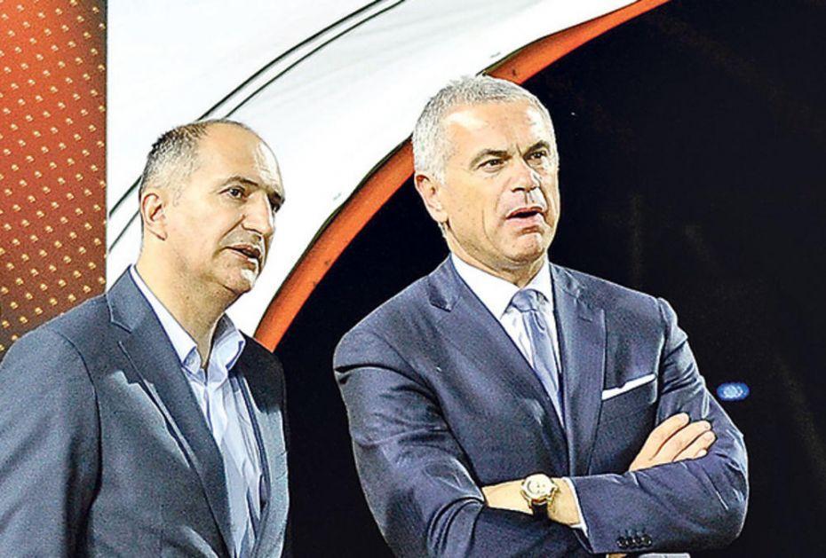 PARTIZAN PRIJAVIO, SAVEZ KAZNIO: Disciplinska komisija FSS udarila po džepu Terzića i Mrkelu (FOTO)