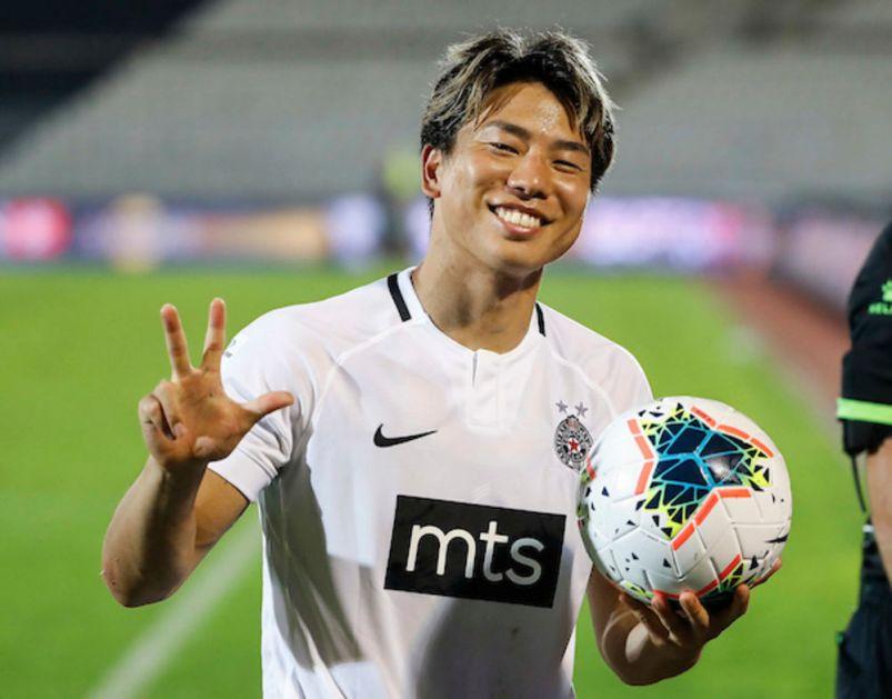 PARTIZANOV JAPANAC BEZ PREMCA: Asano najbolji igrač 24. kola Super lige Srbije