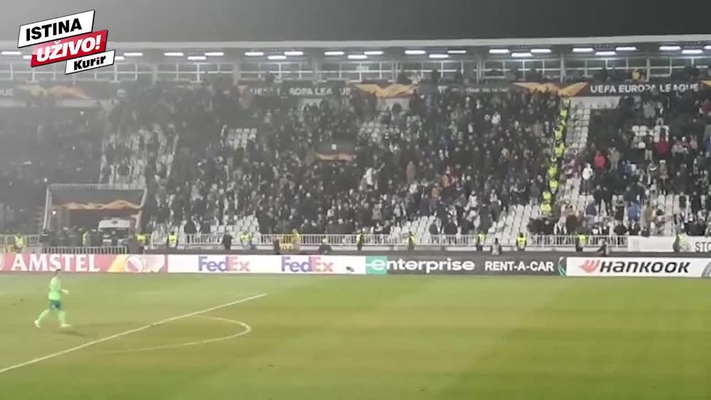 PARTIZANOVCI NAPUSTILI MEČ SA ASTANOM: Ovaj stadion više nije mesto gde se navija za Partizan! KURIR TV