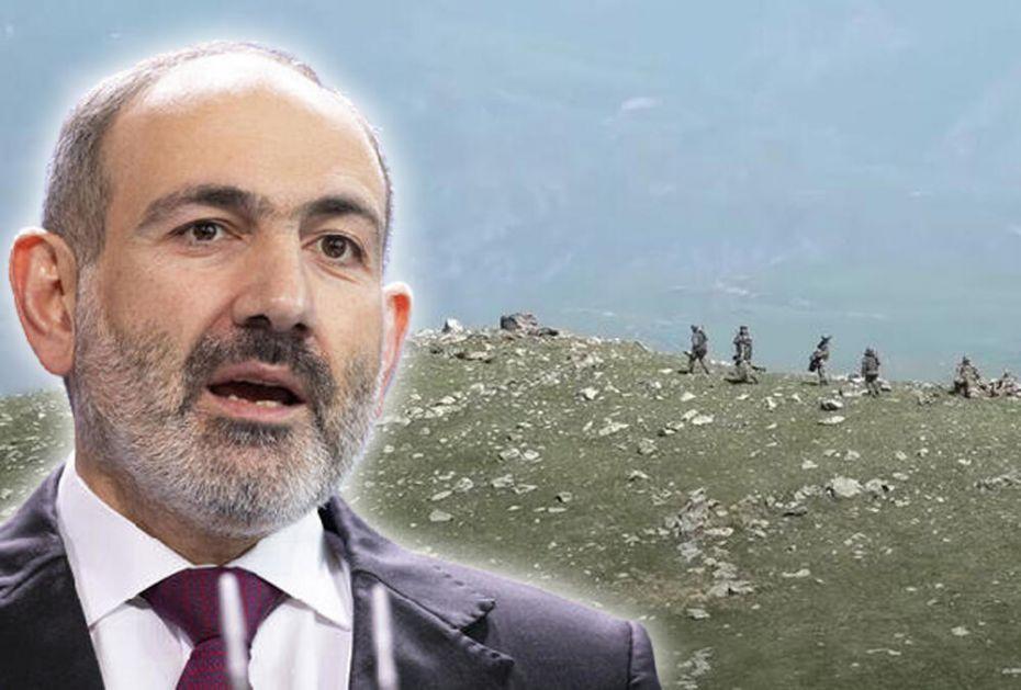 PAŠINJAN: Azerbejdžan se infiltrirao u Jermeniju, hoće da osvoje nove teritorije! VIDEO