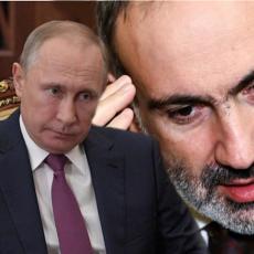 PAŠINJAN HITNO POZVAO PUTINA! Jermenski lider dobio brutalan odgovor od ruskog predsednika