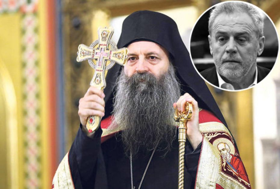 PATRIJARH PORFIRIJE: Bandić je bio prijatelj Srba, svih ljudi Zagreba, ali i moj lični prijatelj