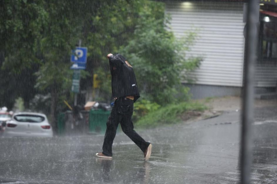 PAŽNJA! Do 5. juna nestabilno vreme, KIŠE I PLJUSKOVI SA GRMLJAVINOM, temperature ispod prosečnih vrednosti!