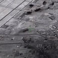 PENTAGON OBJAVIO DOSAD NEVIĐENI SNIMAK: Odmazda Irana u čast generala žestoka, projektili zasuli američku bazu (VIDEO)