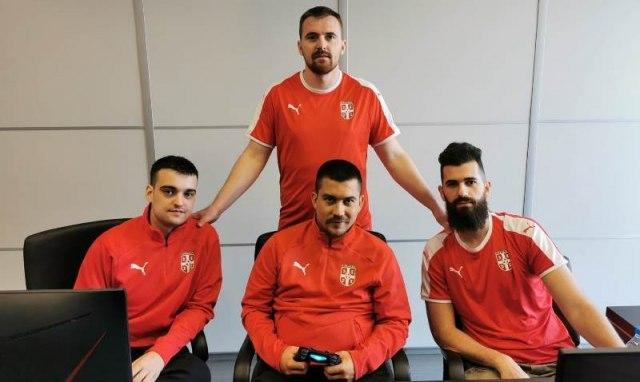 PES tim Srbije u polufinalu Evropskog prvenstva FOTO/VIDEO