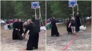 PIK EN POP Najluđi 2 na 2 duel svih vremena: Kada sveštenici OKADE seoski koš /VIDEO/